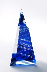 Delphi Pinnacle Award 2014 Schlemmer China