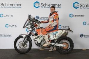 Schlemmer talent promotion: Motorsport racer Emanuel Gyenes