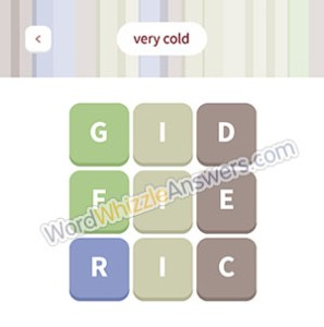FRIGID ICE