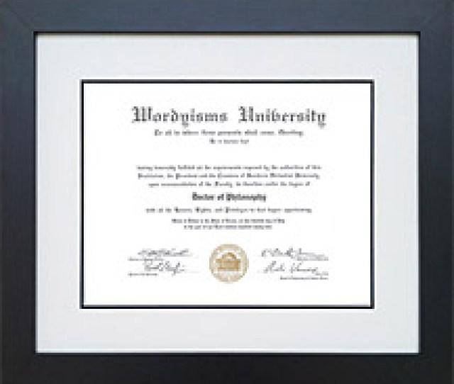 Diploma Frame College Graduation Frame