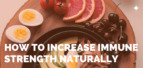 how to increase immunity naturally