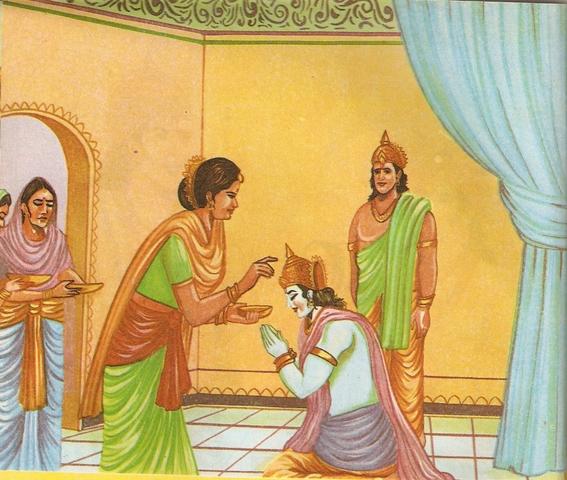 Ramayana Part-3 Dasharatha Promise (20)
