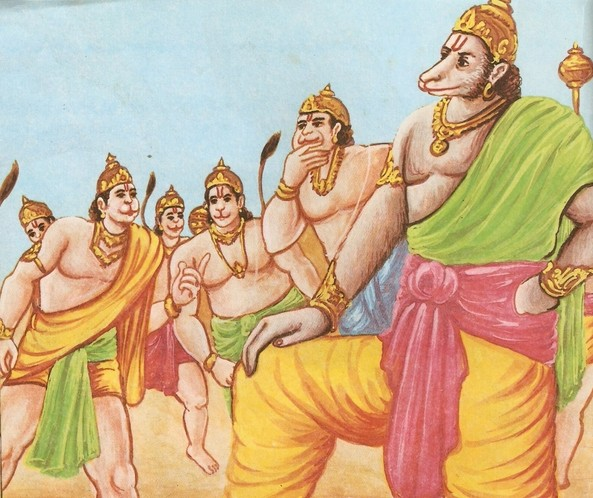 Ramayana Part-6  Meeting Hanuman  (18)