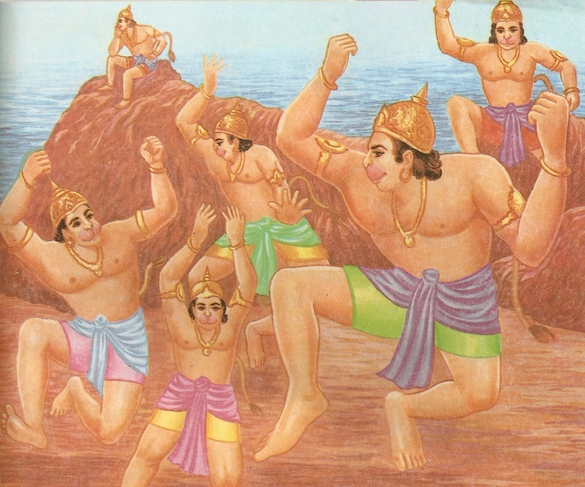 Ramayana Part-6  Meeting Hanuman  (19)