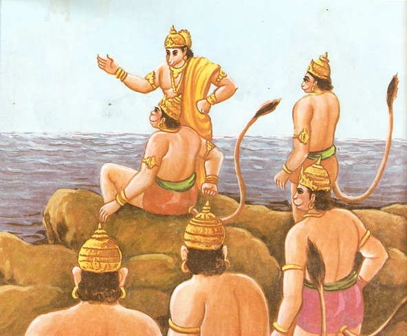 Ramayana Part-6  Meeting Hanuman  (20)