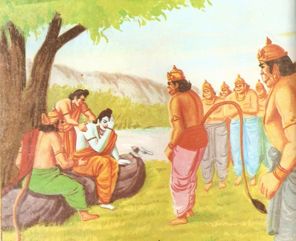 Ramayana Part-6  Meeting Hanuman  (6)