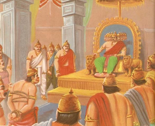 Ramayana Part-7  Lanka Dahan (16)