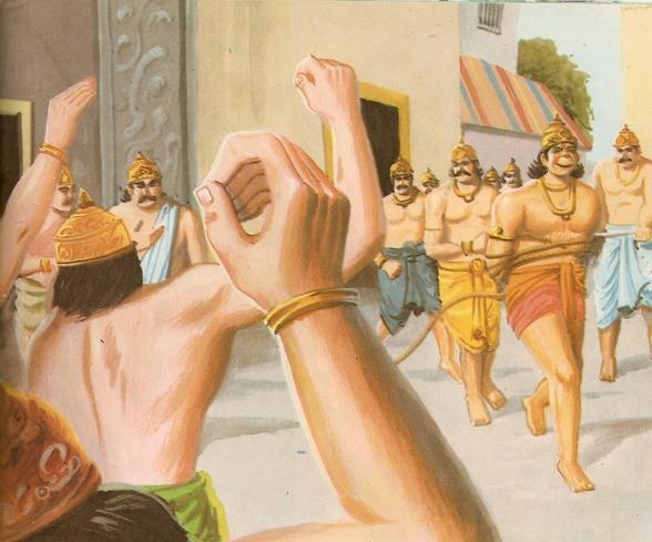Ramayana Part-7  Lanka Dahan (19)