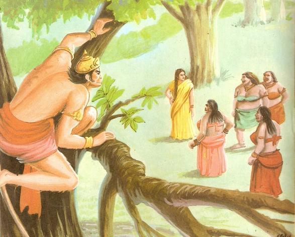 Ramayana Part-7  Lanka Dahan (6)
