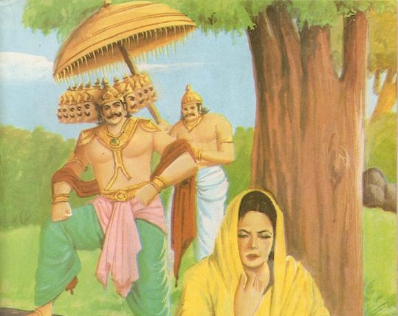 Ramayana Part-7  Lanka Dahan (7)