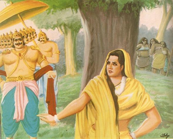 Ramayana Part-7  Lanka Dahan (8)