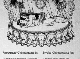 Chinnamasta-Representation