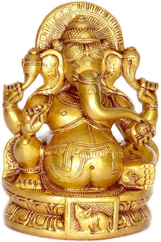 Lambodara Ganesha - 8 Avatars of Lord Ganesha
