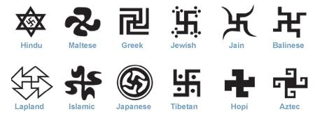 swastikas globlised