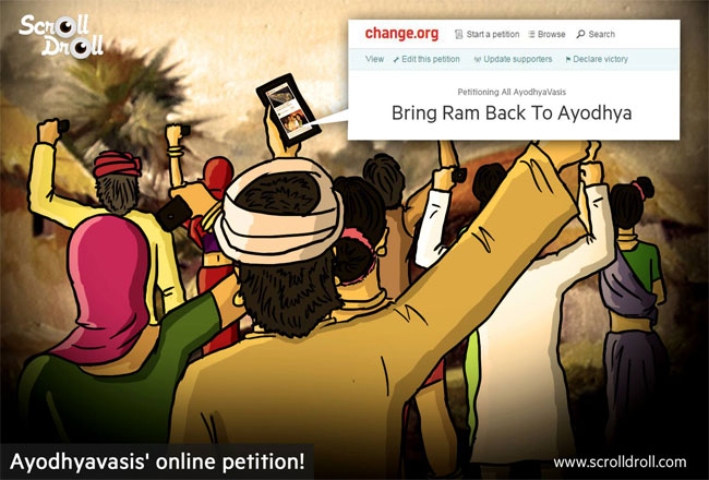 Ayodhyavasis Online Petition on Change.org