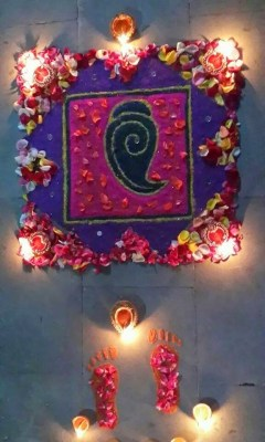 Ganesha Rangoli 30