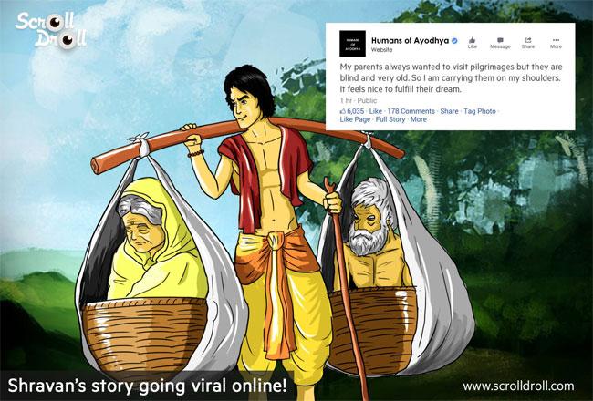 Shravan story going viral online