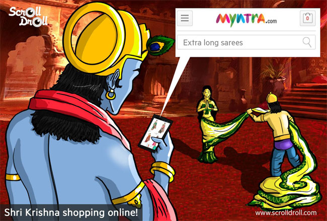 Shri Krishna Online Shopping on Myntra