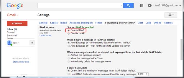 enable-IMAP