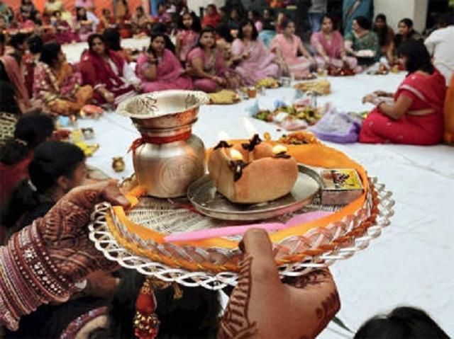 karwachauth-thali