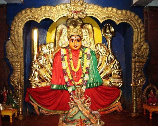 bhadrakali goddess in warangal