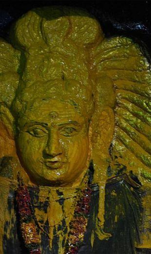 eyes of bhadrakali goddess warangal