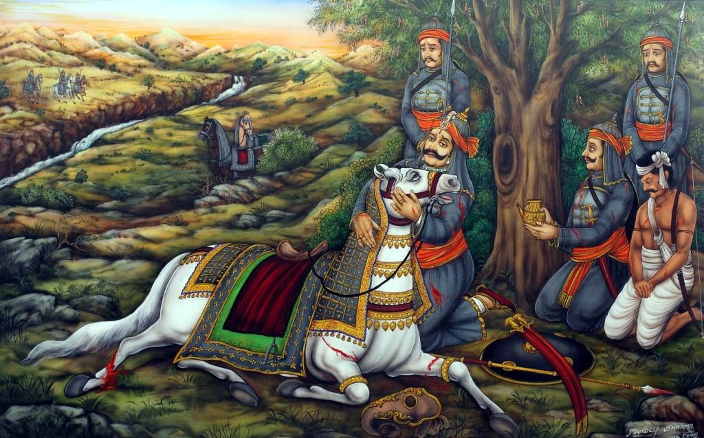maharana-pratap-chetak-on-india-freedom-fighter