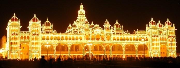 mysore-palace-sunday-night