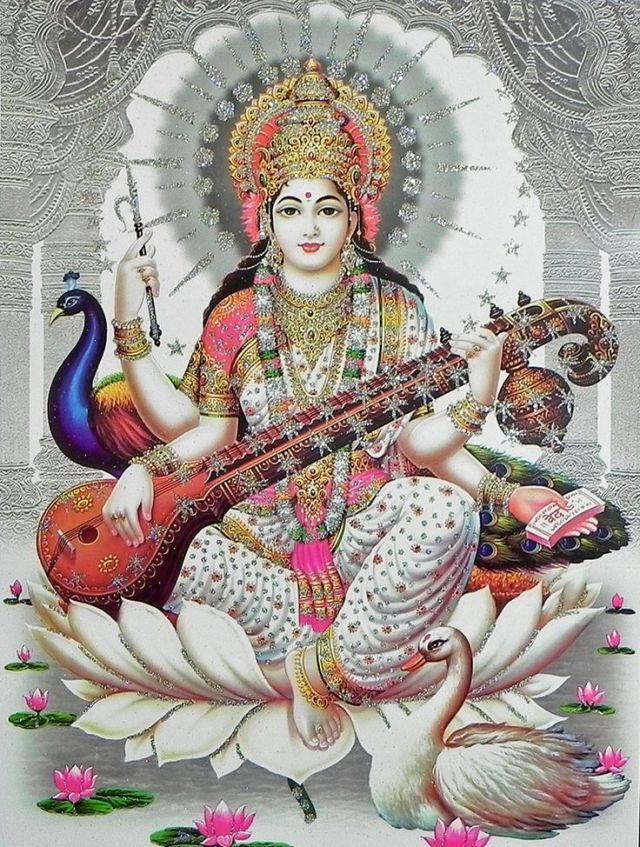 saraswati maa - Saraswati Mata Image Collection 1