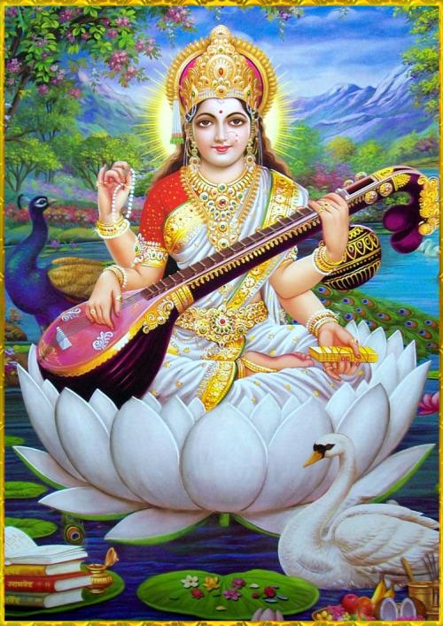 saraswati mata - Saraswati Mata Image Collection 1
