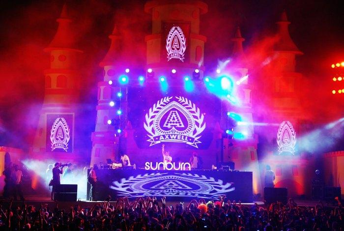 Sunburn music festival in Goa