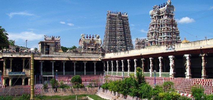 Meenakshi Temple Madurai Tamil Nadu