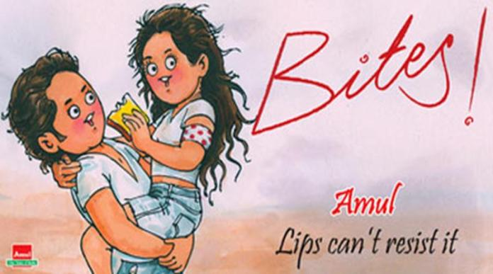 10 Ad Posteers of Amul on Films