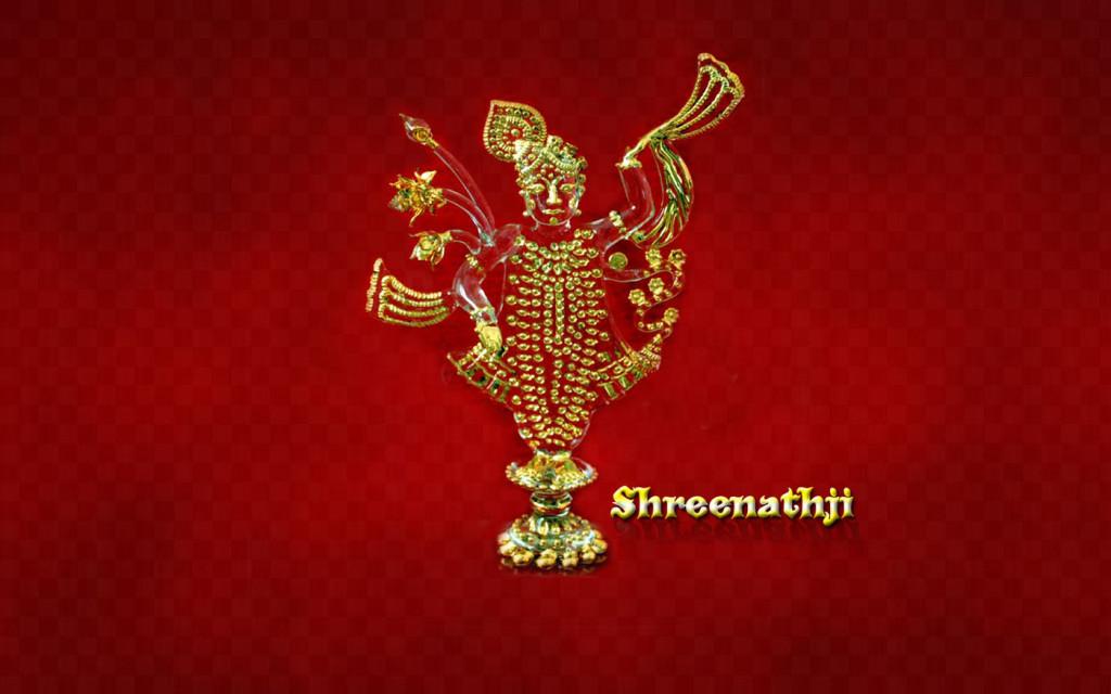 Beautiful 3d statue of god shreenathji