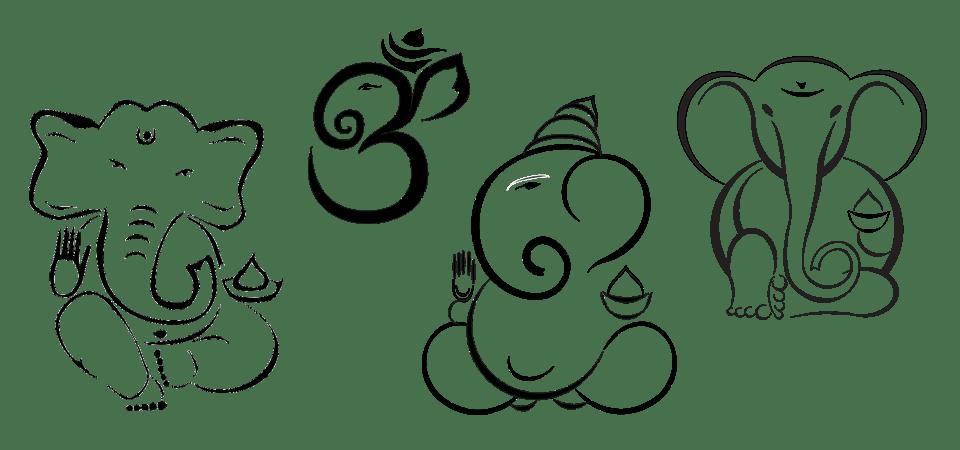 Ganesh Multiple Logo