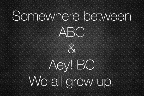 Grew Up - How We Grew Up?