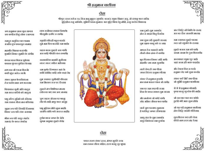 Hanuman chalisa png