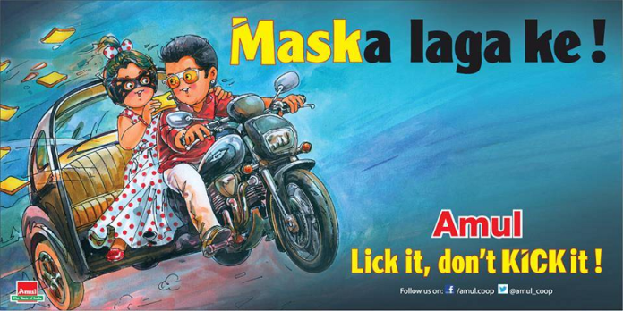 Kick - 50 Impressive Bollywood-Inspired Amul Ads!