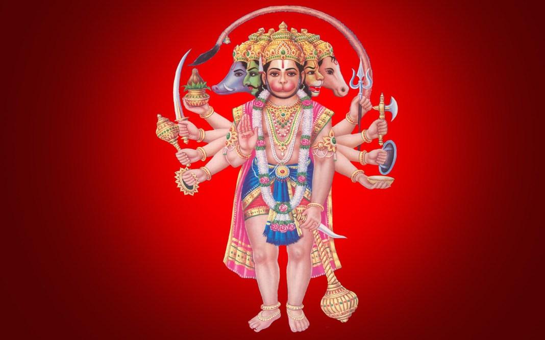 Panchmukhi Hanuman lovely wallpaper in HD