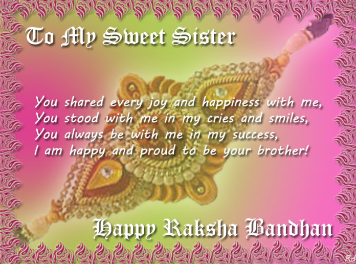 Happy Raksha Bandhan FB Cover
