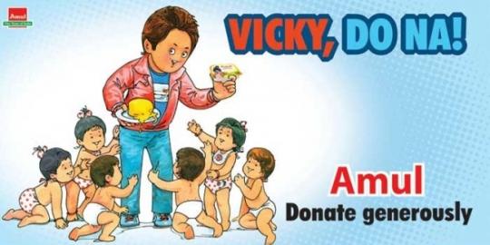 amul ad vicky - 50 Impressive Bollywood-Inspired Amul Ads!