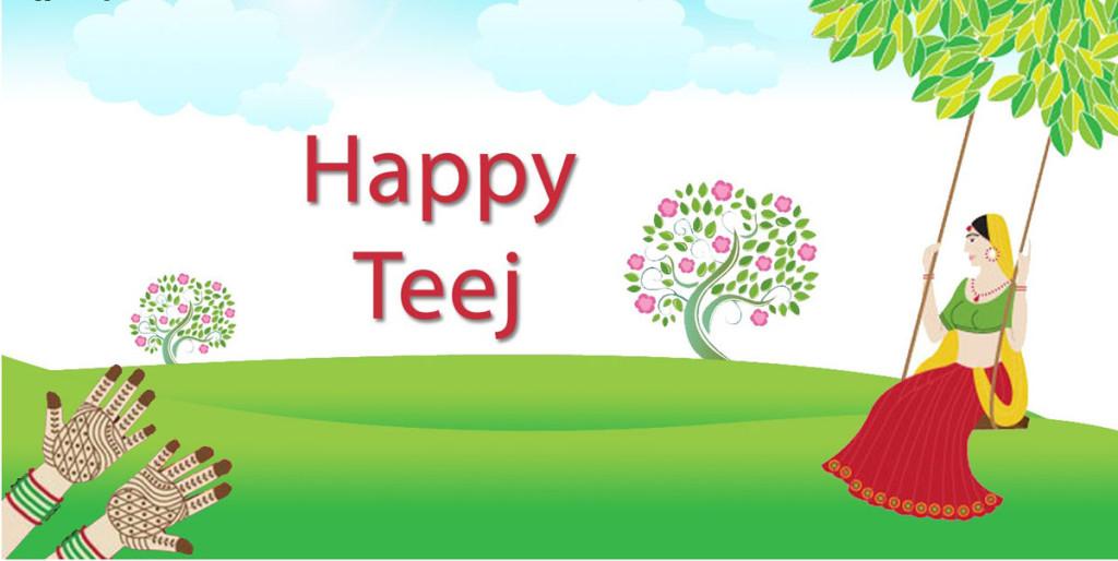 Gorgeous decoration for teej