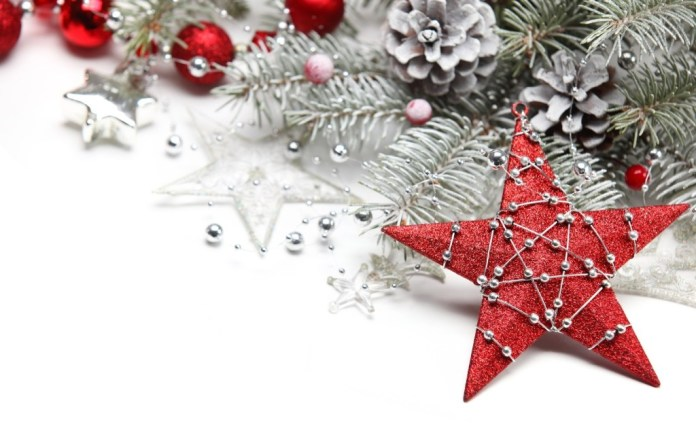 Beautiful Christmas star for decoration