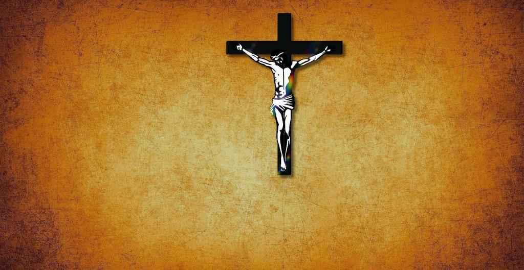 Crucifix wide screen wallpaper