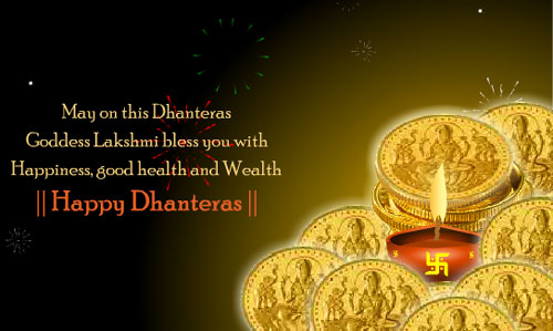 Dhanteras wishes for you all