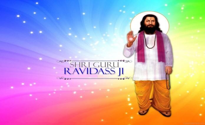Sant Guru Ravidass ji image in 1920x1175 size