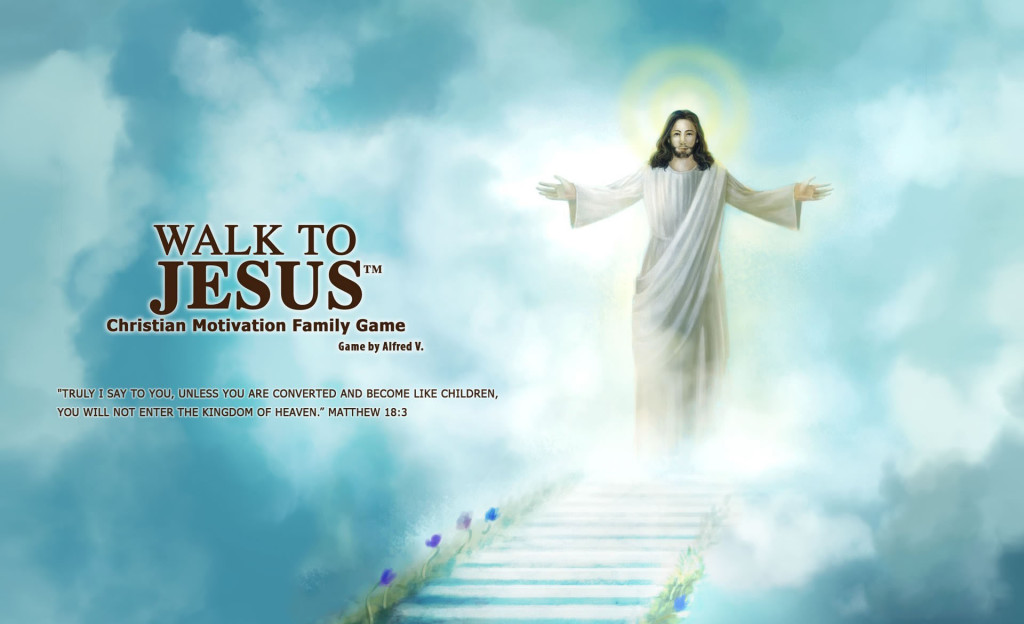 Jesus quotes with rising jesus image