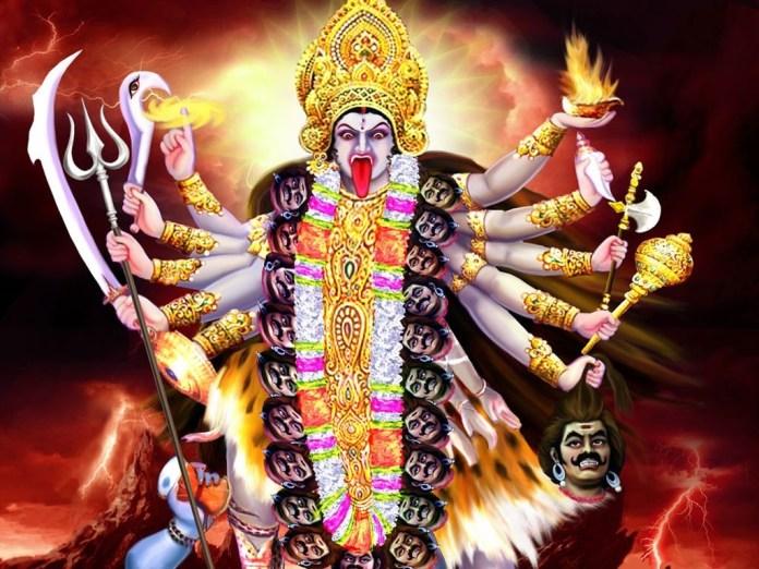 Kali Maa lovely desktop background