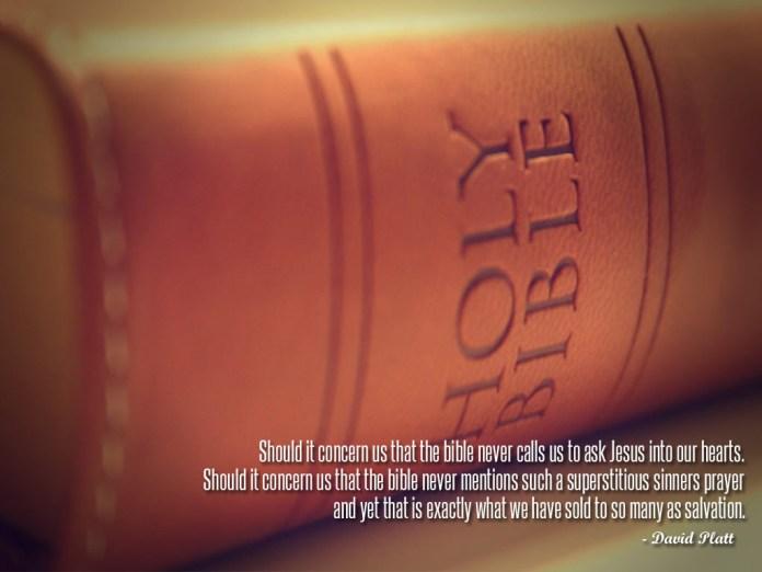 Jesus quotes by david platt