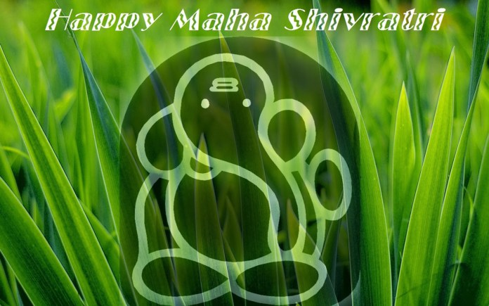 Shivratri wishes with lord ganesh image